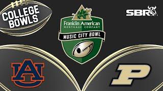College Football Picks Against the Spread | 2018 Music City Bowl | Purdue vs Auburn