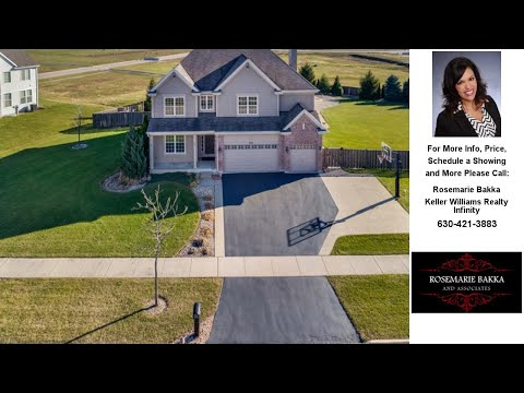572 Parkside Lane, YORKVILLE, IL Presented by Rosemarie Bakka.