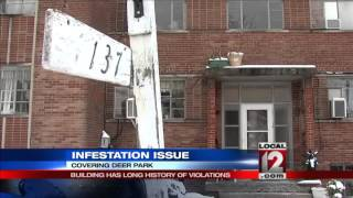 Building has long history of infestation issue and violations