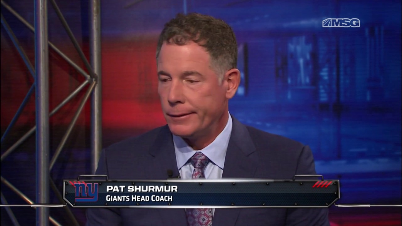 Pat Shurmur is coaching with urgency Giants desperately need