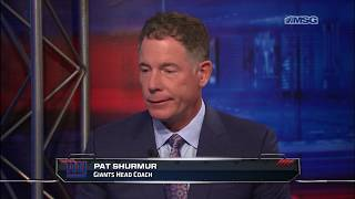 Pat Shurmur: There's an Urgency to Win Right Now | New York Giants | MSG Networks