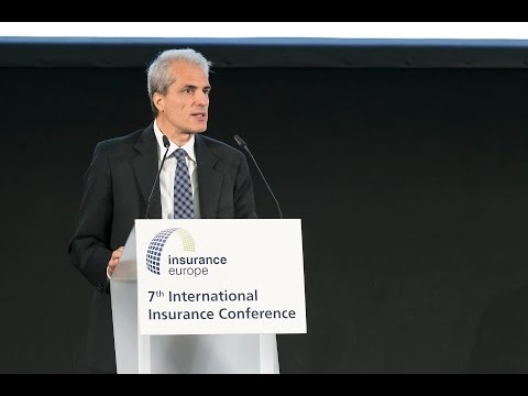 7th International Insurance Conference: welcome address Insurance Europe president Sergio Balbinot