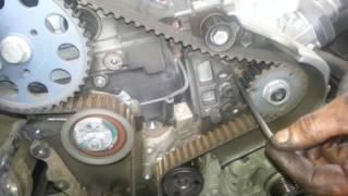 Changement Courroie de distribution Seat leon / Audi/ vw 1.6 tdi  (A à Z )