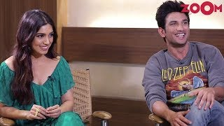 Sonchiriya stars Sushant & Bhumi discuss how it was meeting each other for the first time |Exclusive