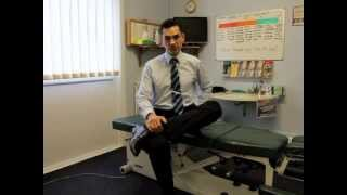 10 seconds Piriformis stretch - re-align your pelvis, prevent sciatica