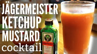 KETCHUP MUSTARD Jägermeister COCKTAIL - The Mast Have