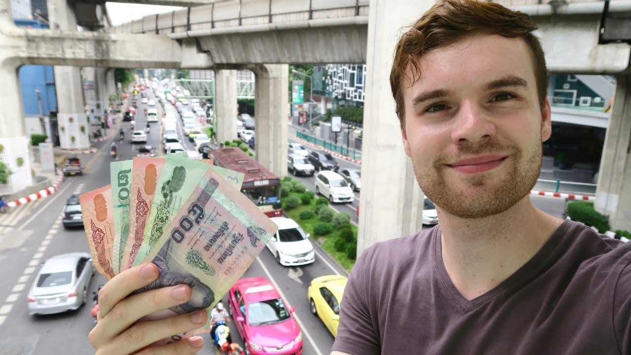HOW EXPENSIVE IS BANGKOK, THAILAND? ???????? A DAY OF BUDGET TRAVEL