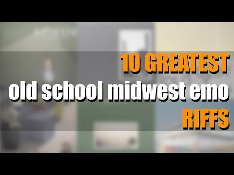 10 GREATEST Old School Midwest Emo RIFFS