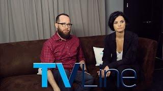 Blindspot Interview at Comic-Con 2015 - TVLine