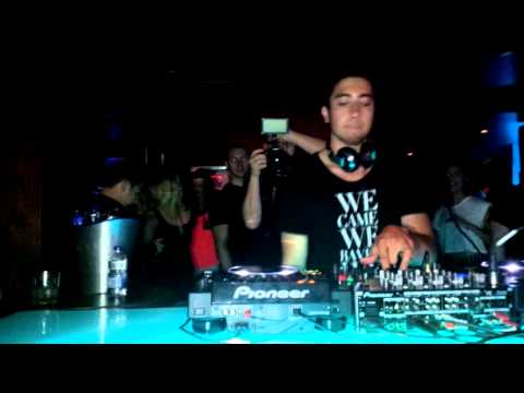 Mika Zibanejad - DJ ZBAD @ Junxion, Ottawa (Playing Reload - Tommy Trash and Sebastian Ingrosso)