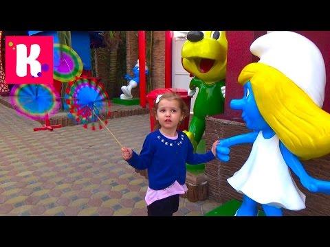 Катя в Дубаи День #2 едем в Крик Парк и Глобал Вилледж  / Покупаем игрушки