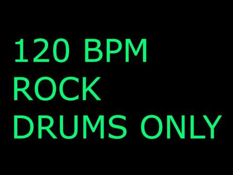 120BPM Rock Drums Only // Drum Backing Track