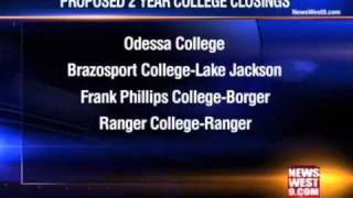 Closing Odessa College Listed as State Budget Possibility