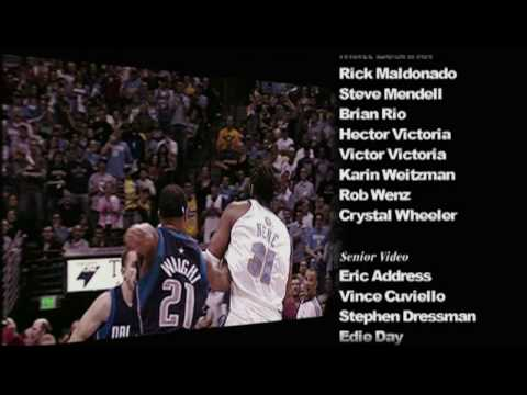 TNT NBA Playoffs 2009 Trailer Montage with Credits Conference Finals - Flipsyde Champion
