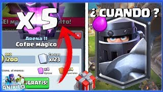 ¿¡ CUANDO SALE LA PROXIMA LEGENDARIA !? + REGALO DE SUPERCELL | CLASH ROYALE