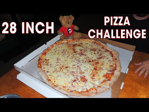 """28"""" Cheese Pizza Challenge in Tennessee!!"""