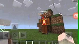 Minecraft pe:como fazer uma fonte de agua automatica