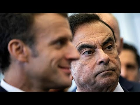 euronews (en français): L'Etat français lâche Carlos Ghosn