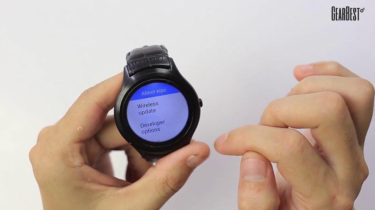 daf9850b848b8 K8 Mini 3G Smartwatch Phone - Gearbest.com - YouTube