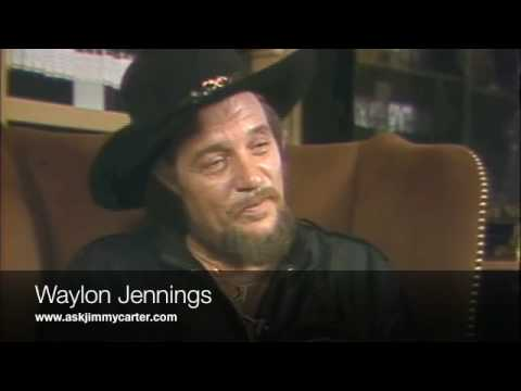 Waylon Jennings interview 80's part one
