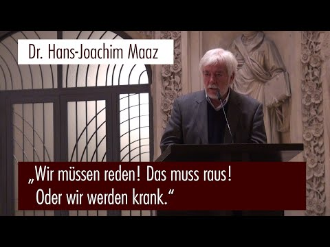 Dr. Hans-Joachim Maaz auf der 3. Bürgerversammlung in Dresden