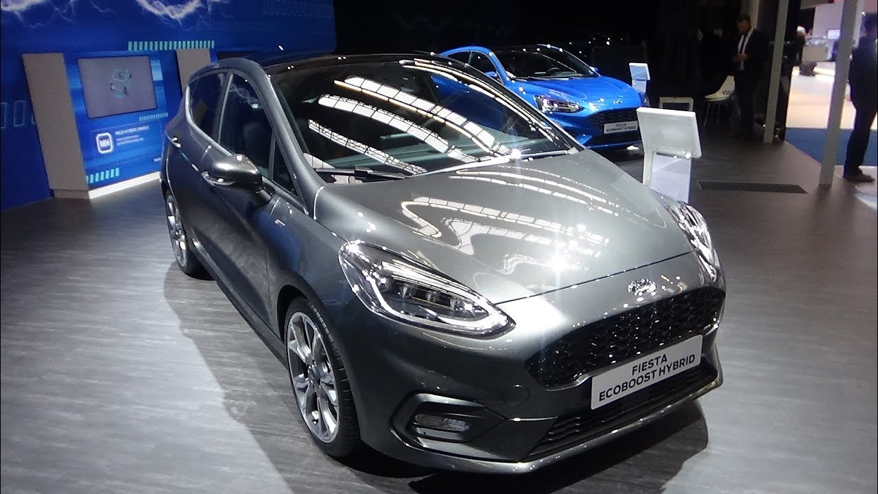 2020 Ford Fiesta Ecoboost Hybrid St Line Exterior And