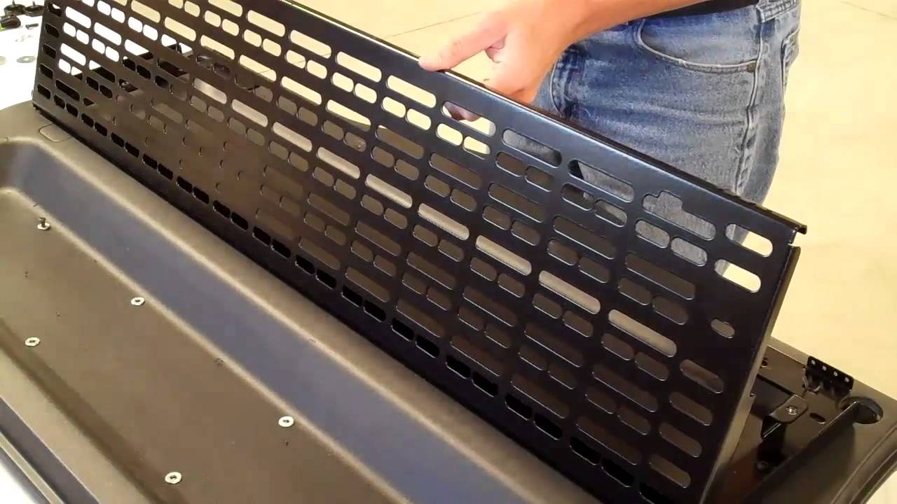 Springtail Mpac Fj Cruiser Folding Rack Installation Youtube