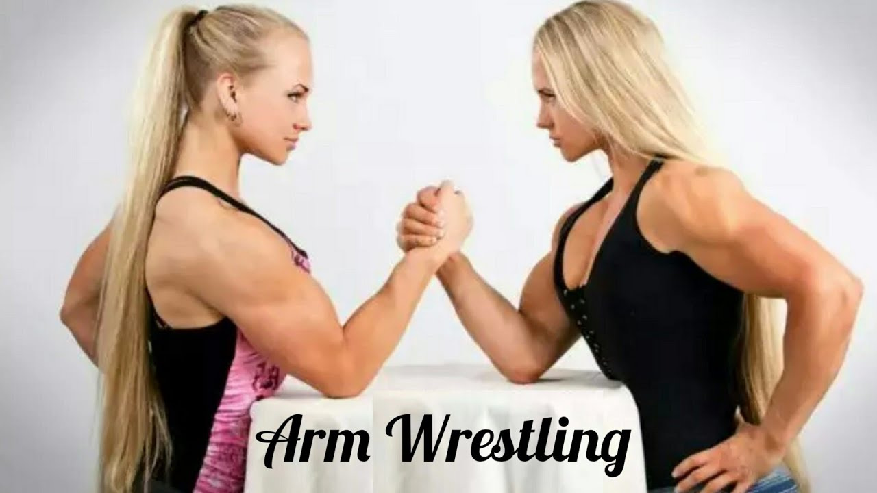Arm Wrestling | Muscle Woman | Strong Girl's | Sport | Sexy Woman's