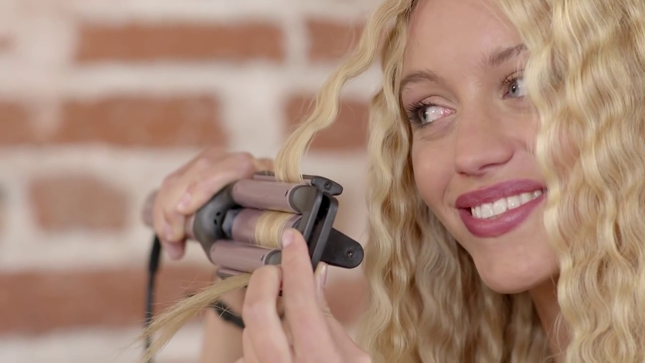 Tutorial Bellissima Beach Waves by Imetec - YouTube 110d2bf2127