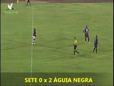 gols de OPERÁRIO 2 x 0 CORUMBAENSE e SETE DE DOURADOS 0 x 4 ÁGUIA NEGRA