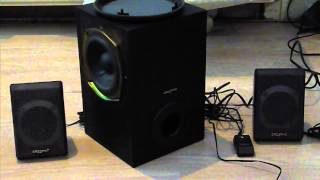 Audio test - Dance Music on Creative p380 system