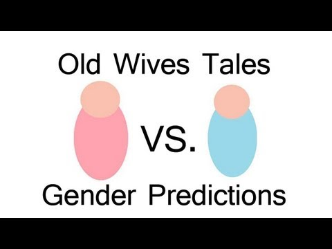 Old Wives Tales Gender Predictions (for 3rd Baby)