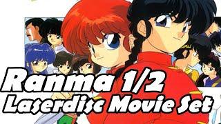 Ranma 1/2 Laserdisc Movie Boxset