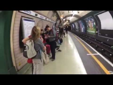 London Underground: Paddington to Oxford Circus