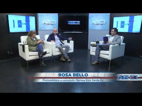 (Anticipo) Manucho Rodríguez y Rosa Bello - precand. a concejal por Somos Vida Santa Fe - ABC1