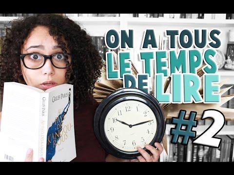 ON A TOUS LE TEMPS DE LIRE ⎮ #2  📖🕑