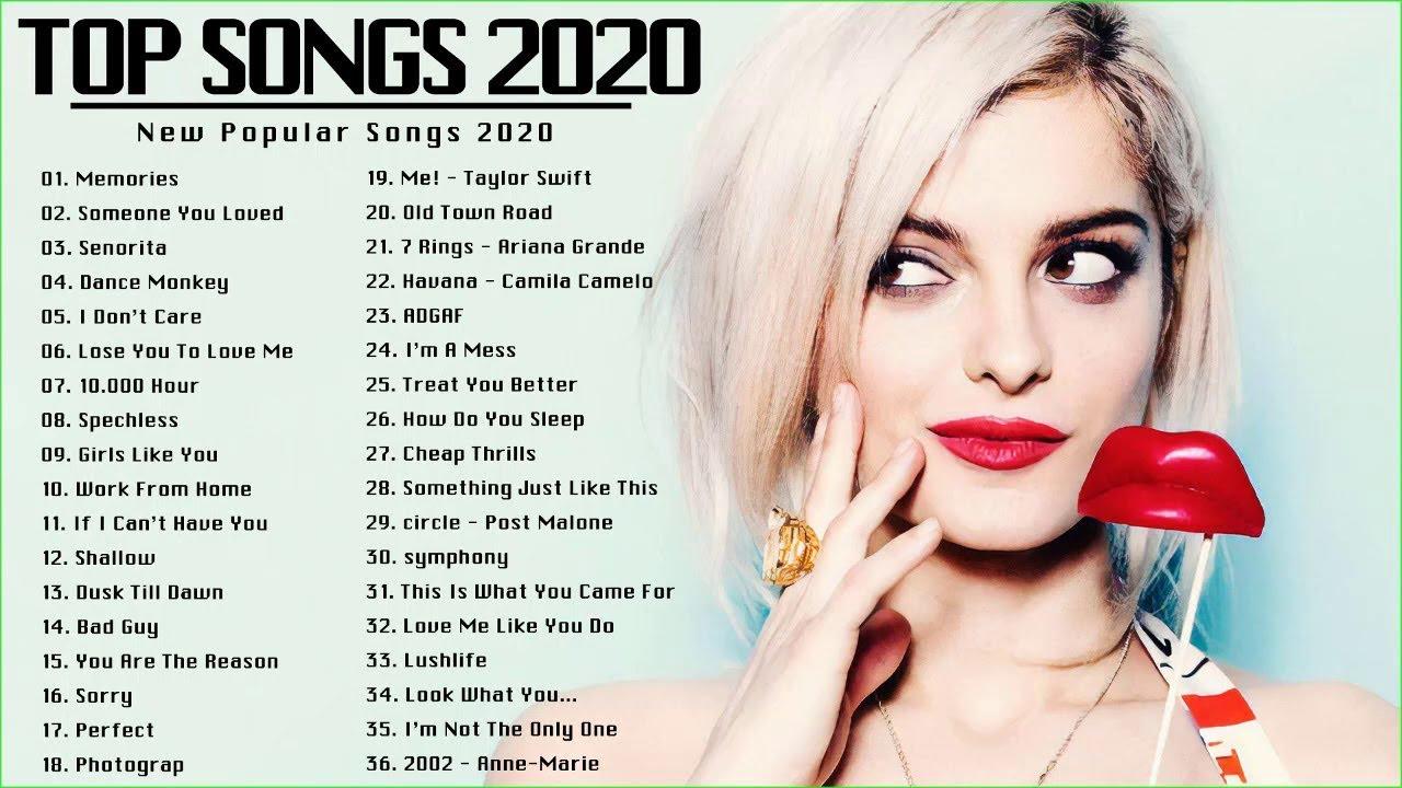 Download Lagu Barat Terbaru 2020 Terpopuler di indonesia - Lagu Inggris Terbaru 202 - Lagu Barat Terbaik 2020
