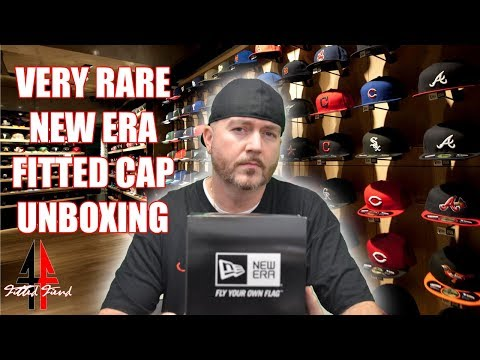 VERY RARE NEW ERA FITTED CAP UNBOXING !!! FITTED FIEND EP. 1