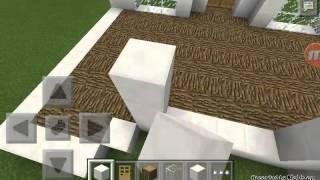 Как построить лёгкий двух итажный дом в Майнкрафте