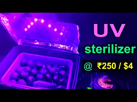 uv-light-disinfection-box-under-₹250-/-$4-|-ultraviolet-ray-sterilizer-for-vegetables,-mobile,-mask
