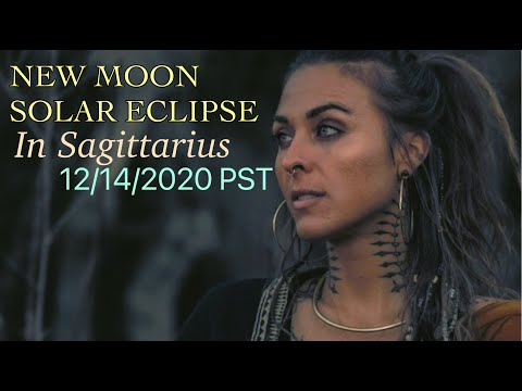 NEW MOON SOLAR ECLIPSE IN SAGITTARIUS - MERCURY THE MESSENGER BRINGS NEWS FOR OUR EVOLUTION
