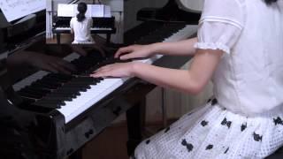 2015年6月28日 録画、 使用楽譜;ぷりんと楽譜.