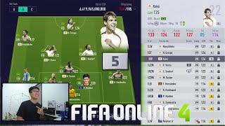 FIFA ONLINE 4: TRẢI NGHIỆM KAKA ICON +5 VÀ NHỮNG SIÊU ĐỘI HÌNH NGHÌN TỶ KHỦNG TOP ĐẦU SERVER
