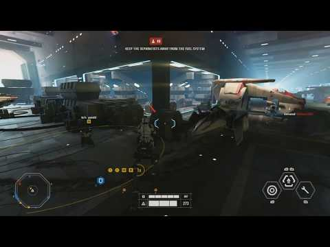 Defending KASHYYYK - Star Wars Battlefront 2 Galactic Assault Gameplay