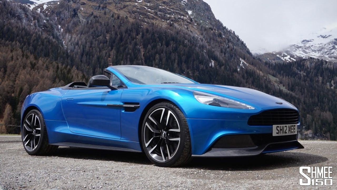 this is why i bought an aston martin vanquish! - youtube