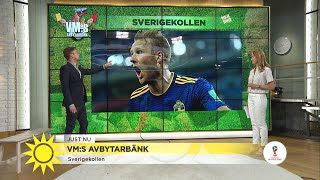 Fotbolls-vm – Så går vi vidare efter förlusten - Nyhetsmorgon (TV4)