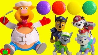 Paw Patrol Pups Pop the Pig Game Learn Colors and Counting