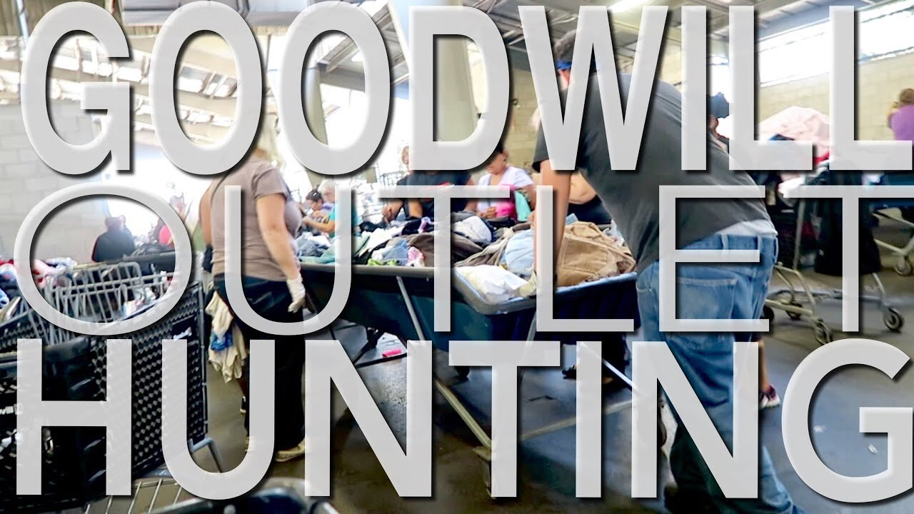 GOODWILL HUNTING FT. THE GOODWILL OUTLET - Adidas, Gap, Seven ...