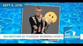 BB20 | Thursday Morning Live Feeds Update - Sept 6, 2018