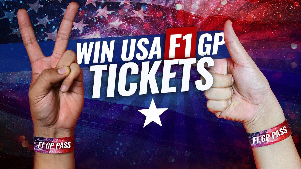 Download Win tickets to the US F1 Grand Prix this weekend